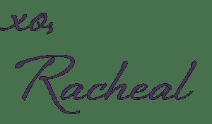 RachealEmailSignaturePurple